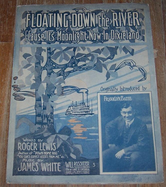 Image for FLOATING DOWN THE RIVER ('CAUSE IT'S MOONLIGHT NOW IN DIXIELAND)