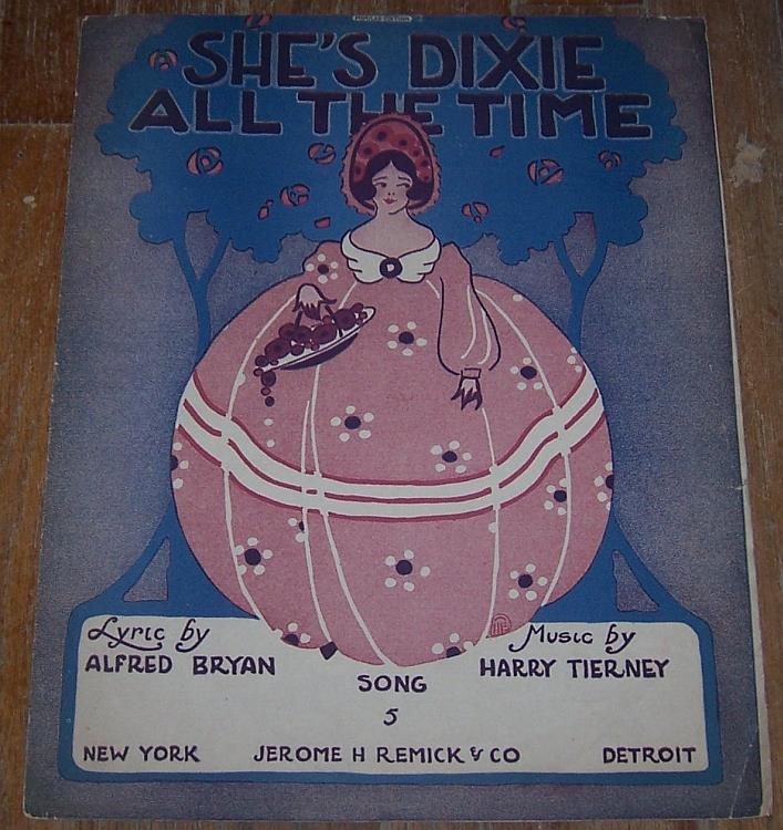 Image for SHE'S DIXIE ALL THE TIME