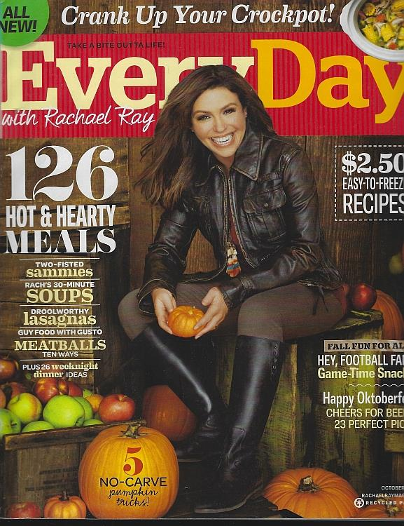 Image for EVERYDAY WITH RACHAEL RAY MAGAZINE OCTOBER 2011