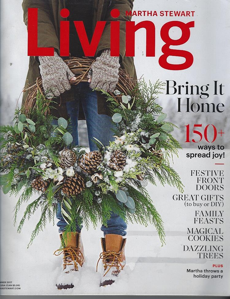 Image for MARTHA STEWART LIVING MAGAZINE DECEMBER 2017