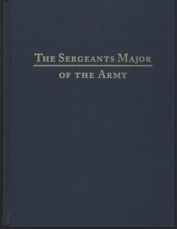 Image for SERGEANTS MAJOR OF THE ARMY