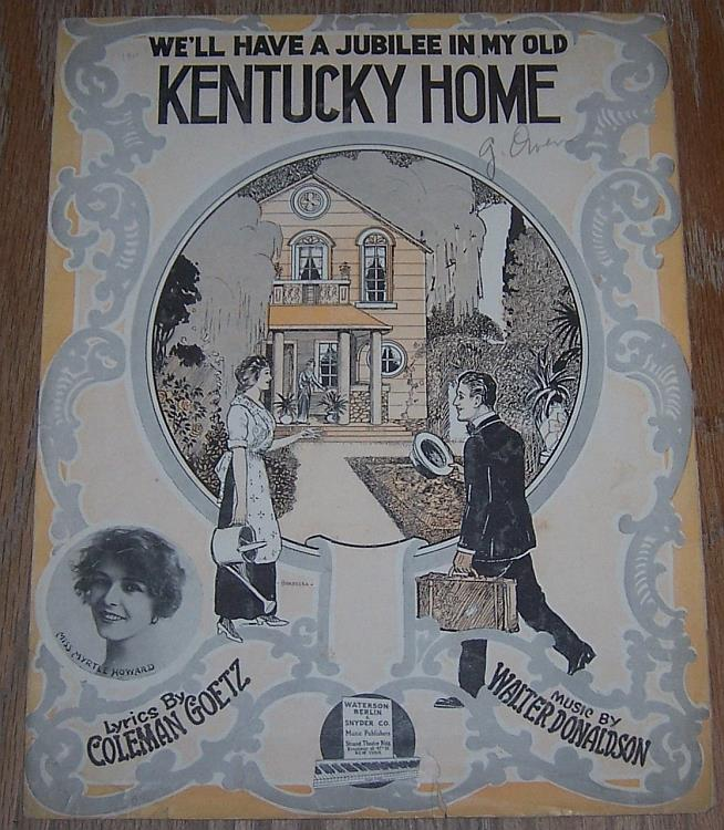 Image for WE'LL HAVE A JUBILEE IN MY OLD KENTUCKY HOME