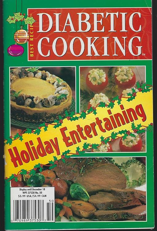 Image for DIABETIC COOKING MAGAZINE NOVEMBER/DECEMBER 2001