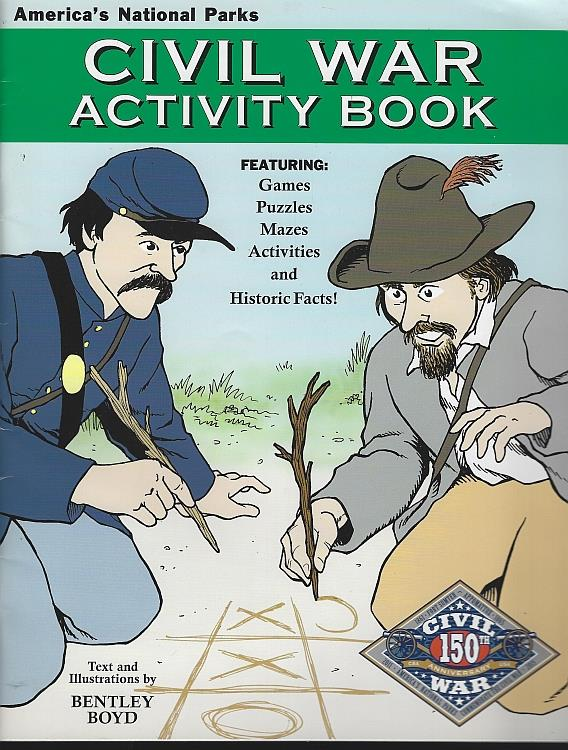 Image for CIVIL WAR ACTIVITY BOOK America's National Parks