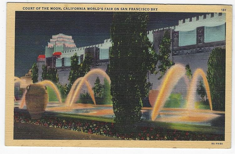 Image for COURT OF MOON, CALIFORNIA WORLD'S FAIR ON SAN FRANCISCO BAY, CALIFORNIA