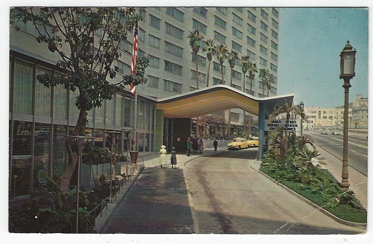 Image for ENTRANCE STATLER HOTEL, LOS ANGELES, CALIFORNIA