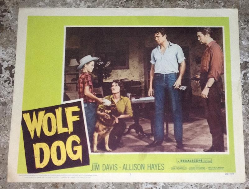 Image for LOBBY CARD WOLF DOG