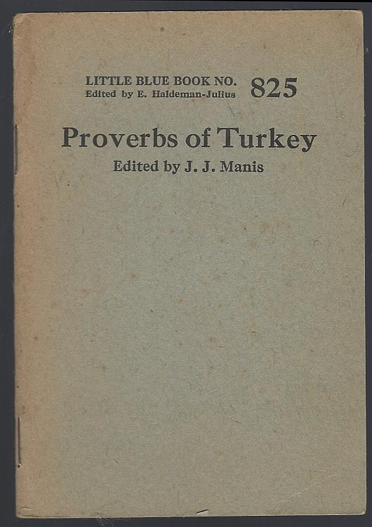 Image for PROVERBS OF TURKEY