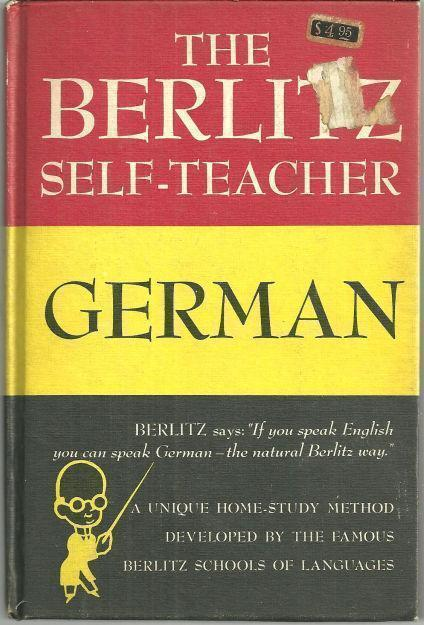 Image for BERLITZ SELF TEACHER GERMAN