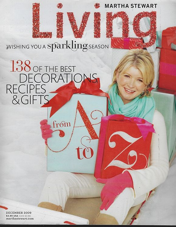 Image for MARTHA STEWART LIVING MAGAZINE DECEMBER 2009