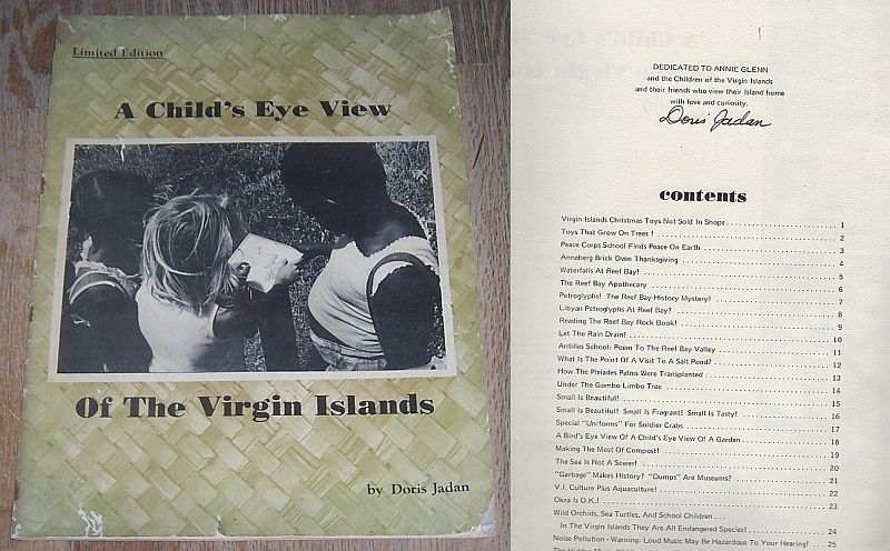 Image for CHILD'S EYE VIEW OF THE VIRGIN ISLANDS