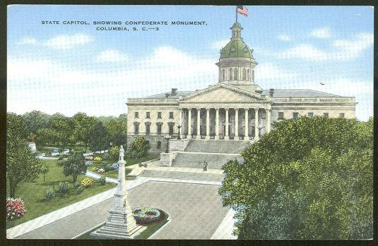 Image for STATE CAPITOL, COLUMBIA, SOUTH CAROLINA