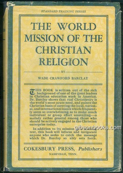 Image for WORLD MISSION OF THE CHRISTIAN RELIGION