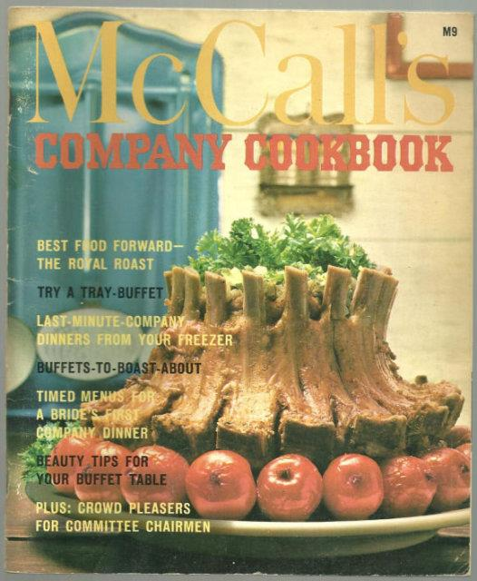 Image for MCCALL'S COMPANY COOKBOOK