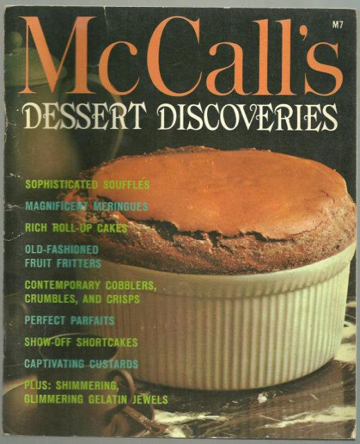 Image for MCCALL'S BOOK OF DESSERT DISCOVERIES