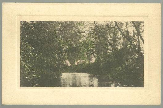 Image for RURAL LANDSCAPE WITH STREAM AND TREES
