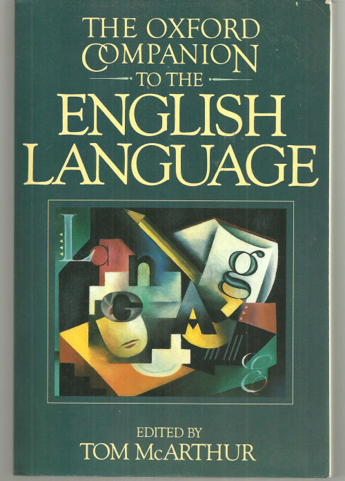 Image for OXFORD COMPANION TO THE ENGLISH LANGUAGE