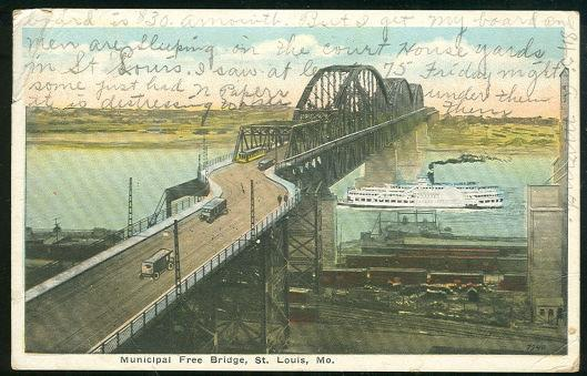 Image for MUNICIPAL FREE BRIDGE, ST. LOUIS, MISSOURI