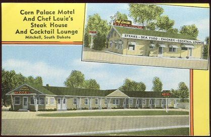 Image for CORN PALACE MOTEL AND CHEF LOUIE'S STEAK HOUSE AND COCKTAIL LOUNGE, MITCHELL, SOUTH DAKOTA