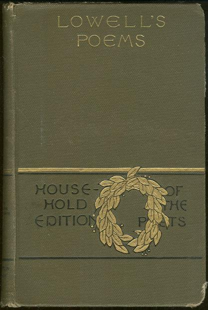 Image for POETICAL WORKS OF JAMES RUSSELL LOWELL Household Edition