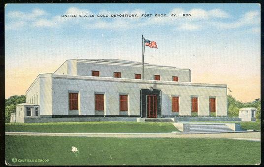 Image for UNITED STATES GOLD DEPOSITORY, FORT KNOX, KENTUCKY