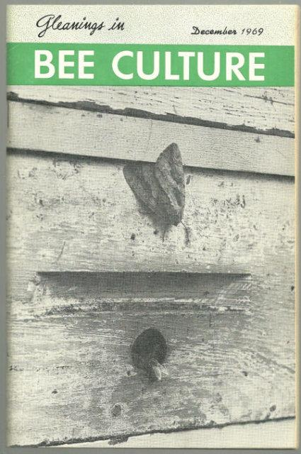 Image for GLEANINGS IN BEE CULTURE DECEMBER 1969