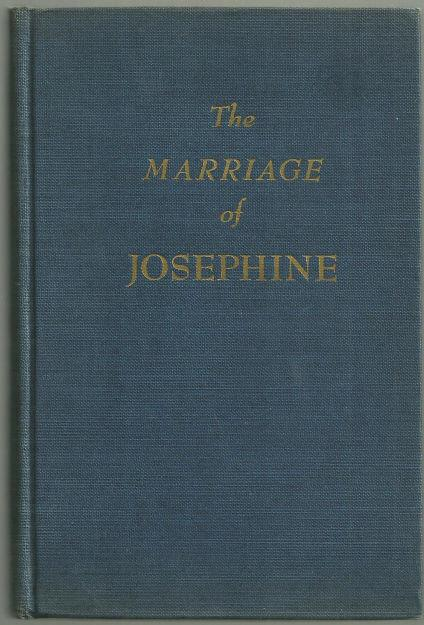 Image for MARRIAGE OF JOSEPHINE