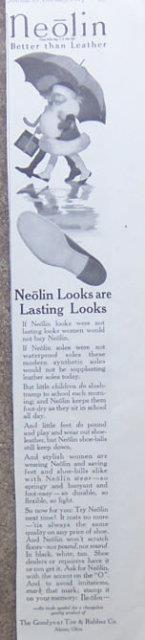 Image for 1917 LADIES HOME JOURNAL ADVERTISEMENT FOR NEOLIN SHOE SOLES