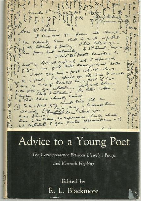 Image for ADVICE TO A YOUNG POET The Correspondence between Llewellyn Powys and Kenneth Hopkins