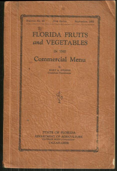 Image for FLORIDA FRUITS AND VEGETABLES IN THE COMMERCIAL MENU