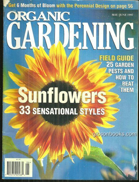 Image for ORGANIC GARDENING MAGAZINE MAY/JUNE 1997
