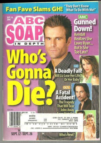 Image for ABC SOAPS IN DEPTH MAGAZINE SEPTEMBER 26, 2006