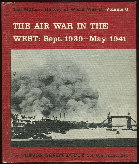 Image for AIR WAR IN THE WEST September 1939-May 1941