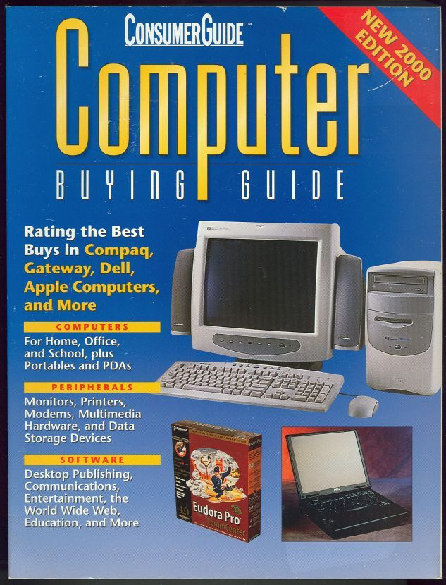 Image for COMPUTER BUYING GUIDE 2000