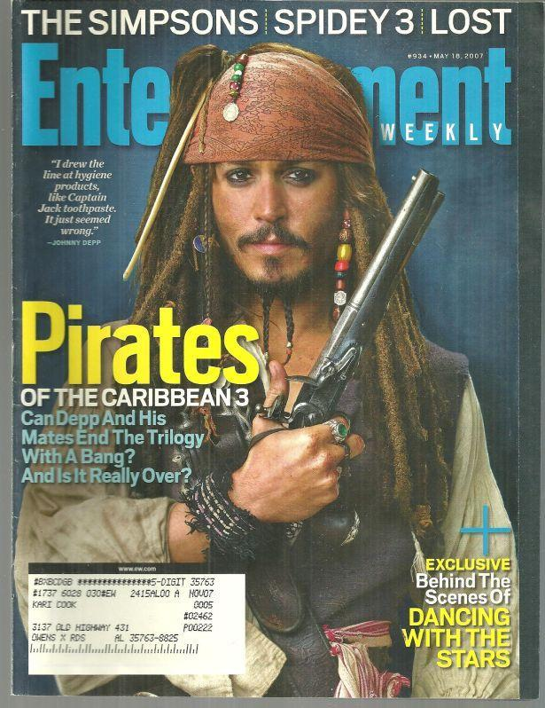 Image for ENTERTAINMENT WEEKLY MAGAZINE MAY 18, 2007