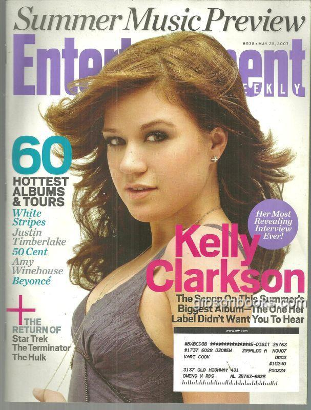 Image for ENTERTAINMENT WEEKLY MAGAZINE MAY 25, 2007