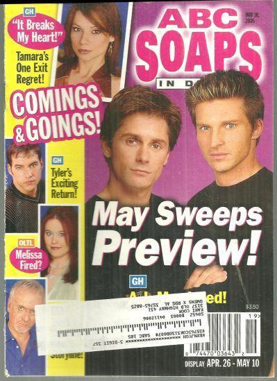 Image for ABC SOAPS IN DEPTH MAGAZINE MAY 10, 2005