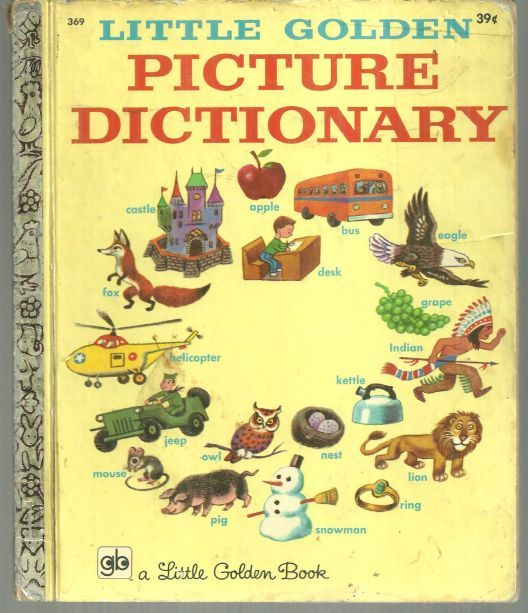 Image for LITTLE GOLDEN PICTURE DICTIONARY