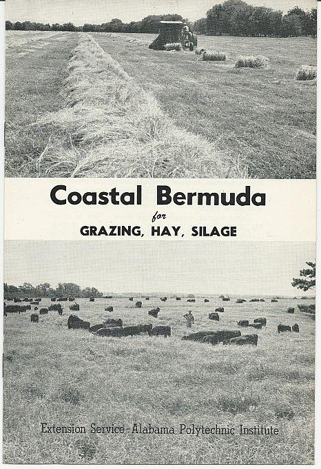 Image for COASTAL BERMUDA FOR GRAZING, HAY, SILAGE