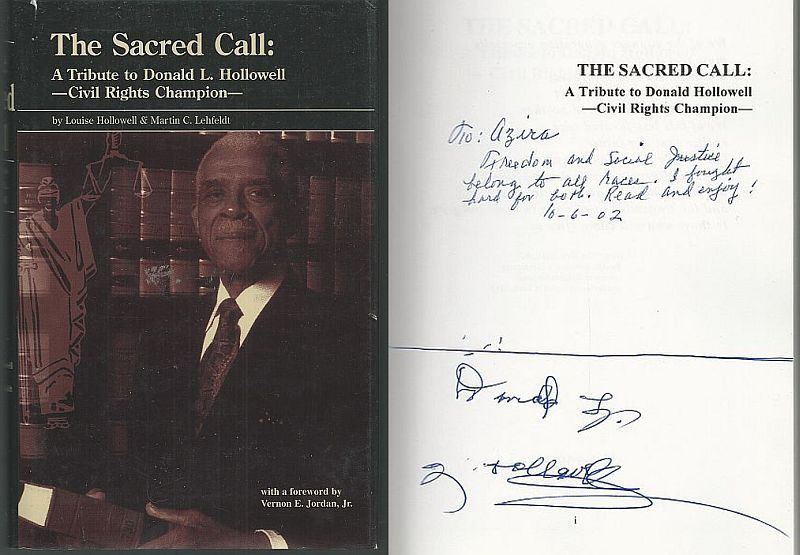 Image for SACRED CALL A Tribute to Donald L. Hollowell-Civil Rights Champion