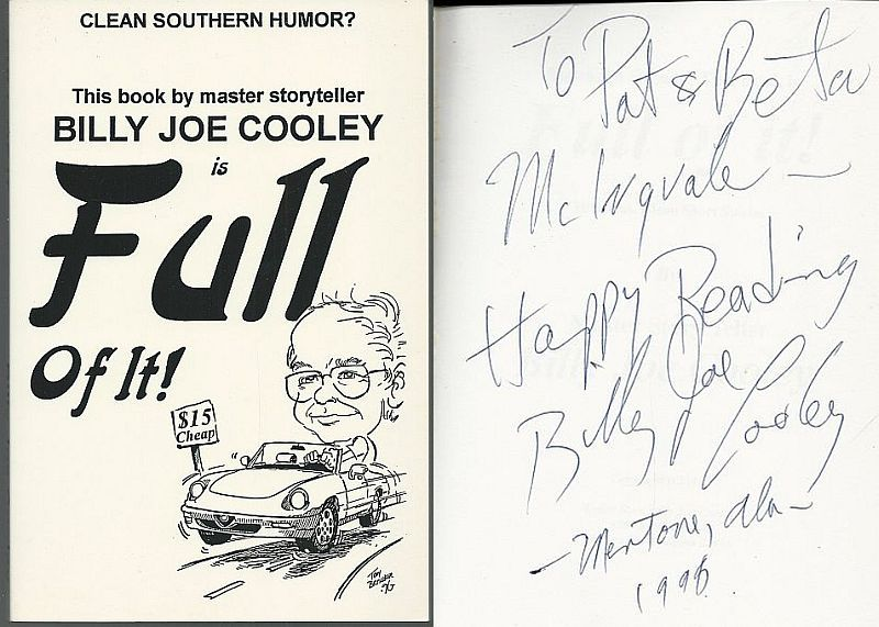 Image for BILLY JOE COOLEY IS FULL OF IT!  Clean Southern Humor