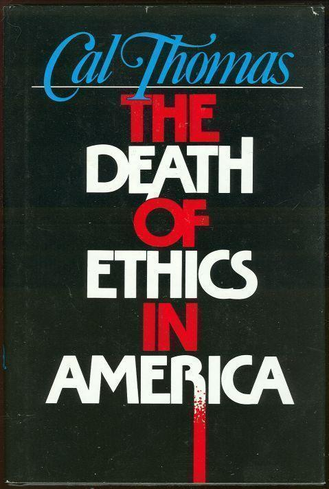 Image for DEATH OF ETHICS IN AMERICA