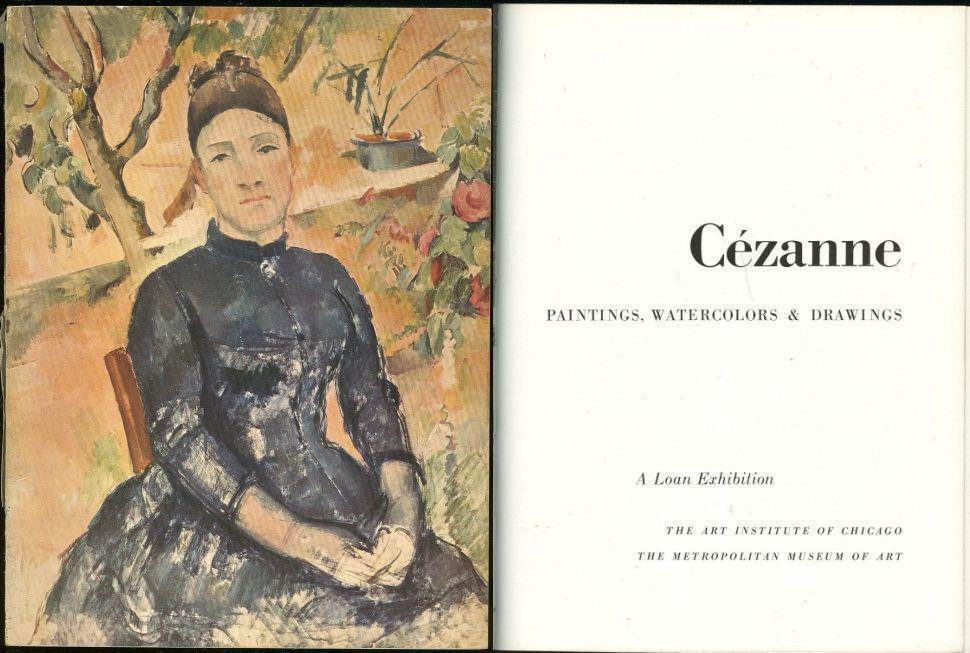 Image for CEZANNE Paintings, Watercolors and Drawings