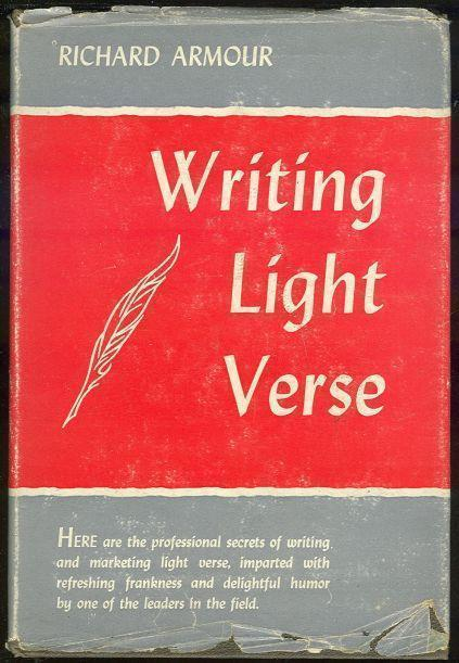 Image for WRITING LIGHT VERSE