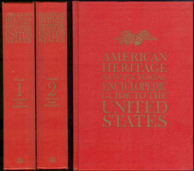 Image for AMERICAN HERITAGE NEW PICTORIAL ENCYCLOPEDIC GUIDE TO THE UNITED STATES Two Volume Set