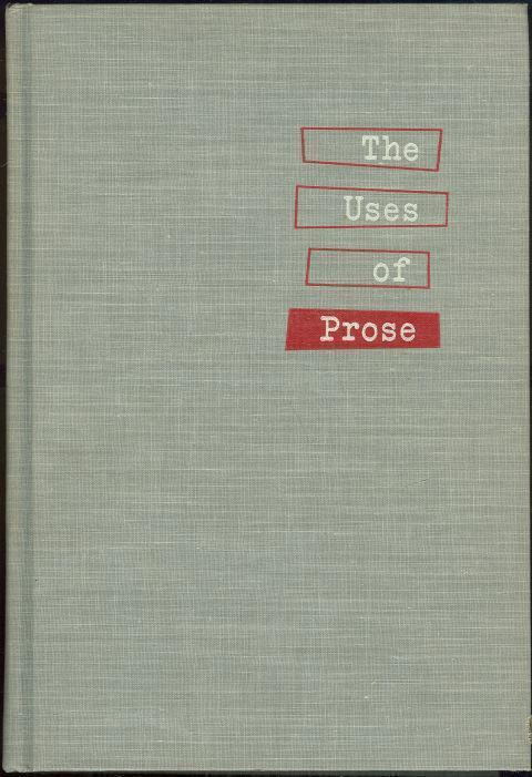 Image for USES OF PROSE