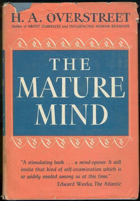 Image for MATURE MIND