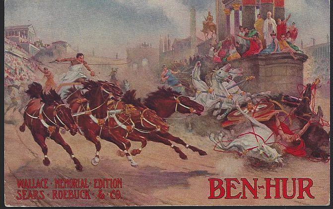 Image for BEN HUR WALLACE MEMORIAL EDITION AVAILABLE AT SEARS ROEBUCK