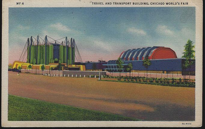 Image for TRAVEL AND TRANSPORT BUILDINGS, A CENTURY OF PROGRESS, INTERNATIONAL EXPOSITION 1933, CHICAGO, ILLINOIS
