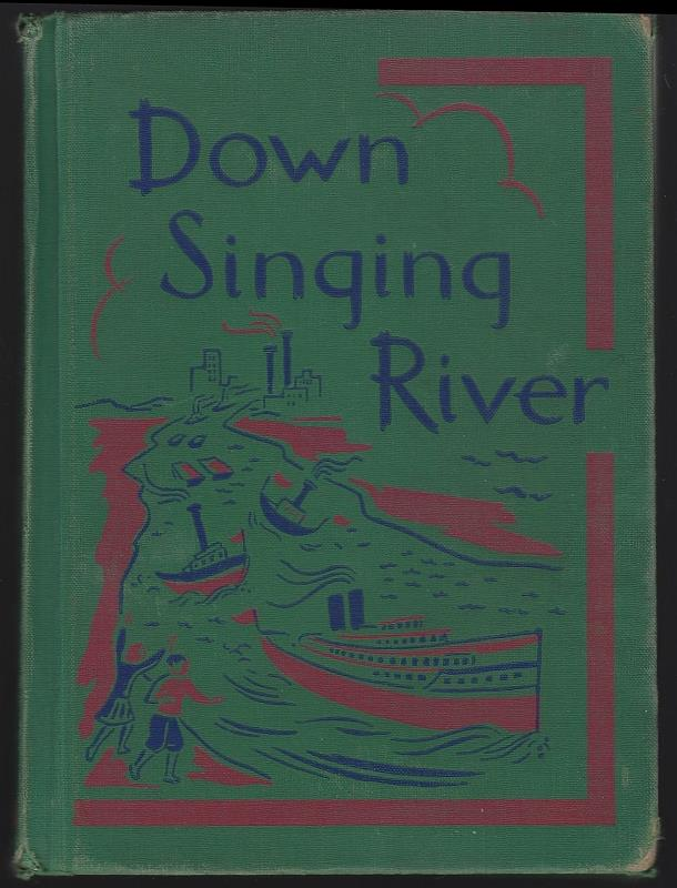 Image for DOWN SINGING RIVER Second Reader Betts Basic Readers